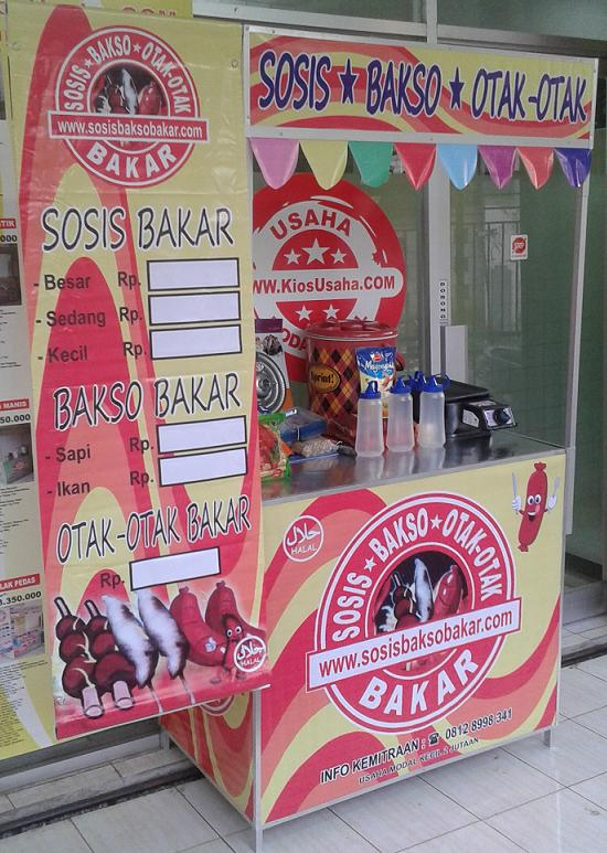 Franchis Sosis Bakar Murah