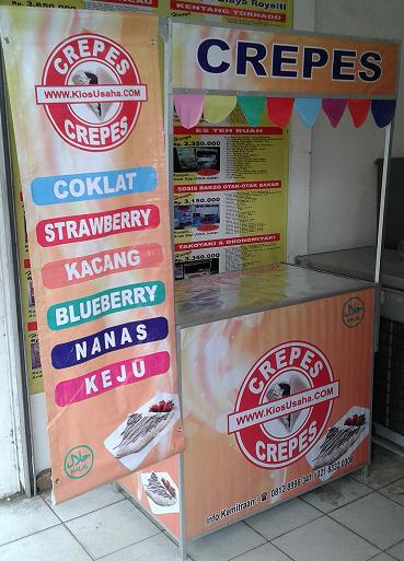 franchise crepes murah