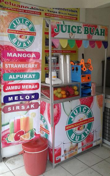 franchise jus buah murah