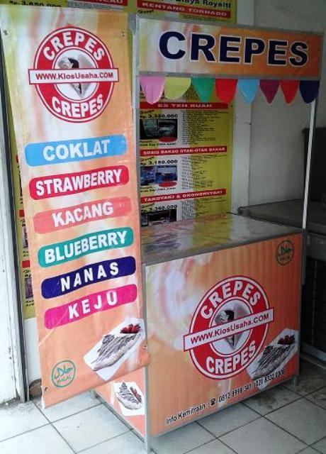 bisnis murah franchise crepes