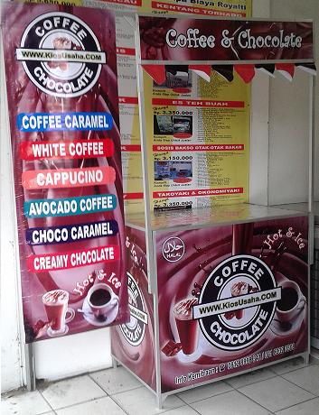usaha jual kopi dan coklat