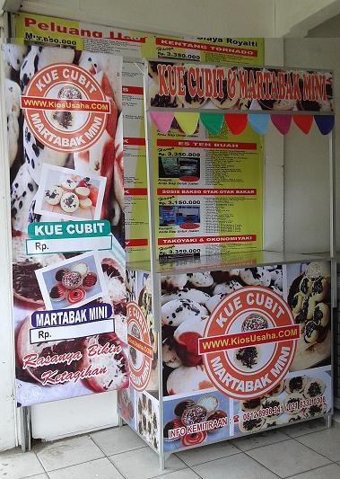franchise kue cubit